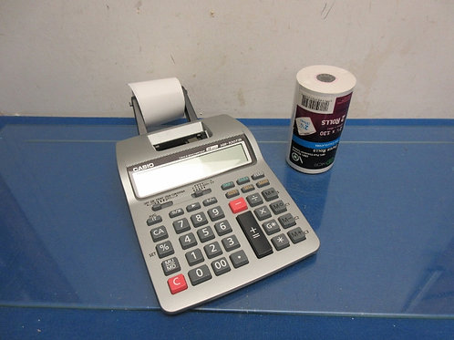 Casio hr-100tm adding machine with extra rolls of paper