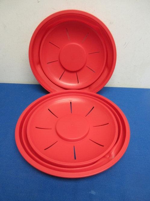 Mark Charles Misilli set of 2 microwave splatter lids