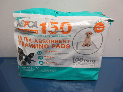 ASPCA ultra absorbant training pads, pack of about 85