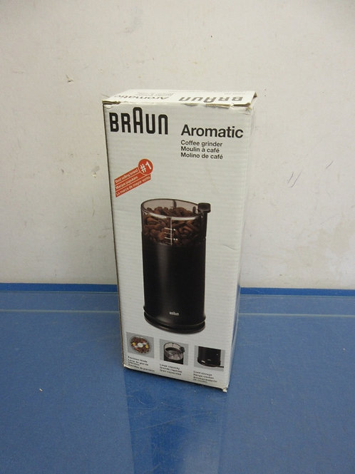 Braun aromatic coffee grinder