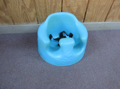 Bumbo blue booster seat, wear