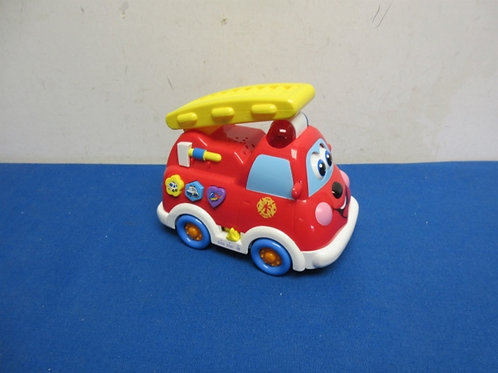 Small fire truck that makes various noises