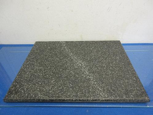 Black heavy granite cutting board- 15x12