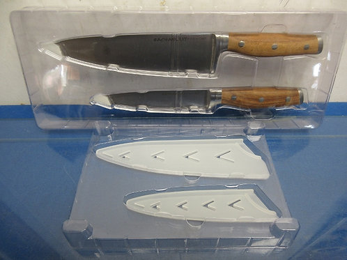 """Rachael Ray knife set--8"""" chef and 6"""" utility knife"""