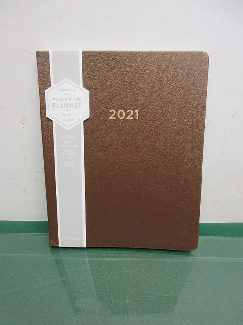 12 month planner for year of 2021