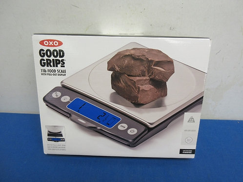 OXO Good Grips 11lb. Food scale, new in pkg