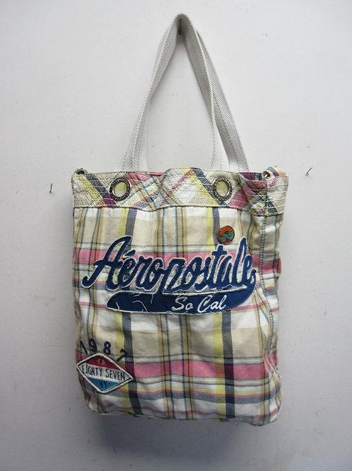 Aeropostale plaid crossbody large bag