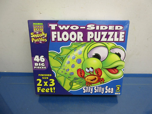 Puzzle Patch great big two-sided floor puzzle-46, ages 3 & uppc,