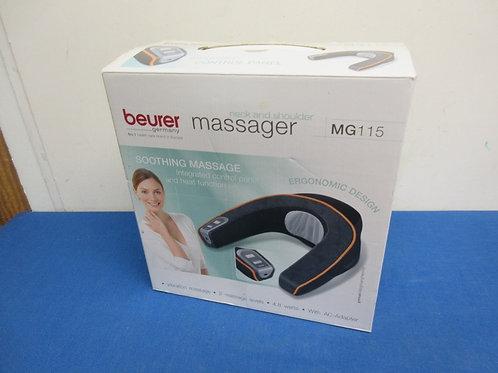 Beurer neck and shoulder massager in box