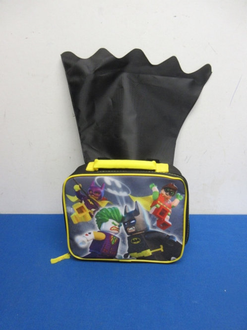 Lego Batman insulated lunch box with cape