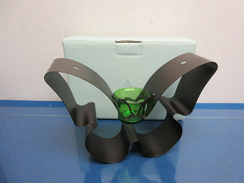 Partylite metal butterfly votive holder, New in box