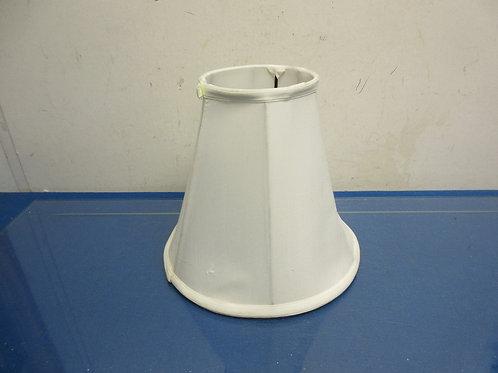 Small white cloth lamp shade
