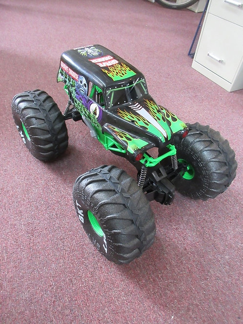 """Extra large monster truck """"Grave Digger""""  push toy 18x29x16""""high"""