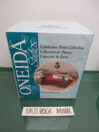 Oneida Studios Lighthouse point collection, Split Rock Minnesota, new in box