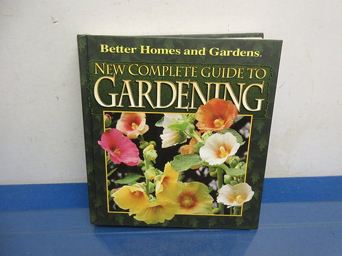 Coffee table book, complete guide to gardening