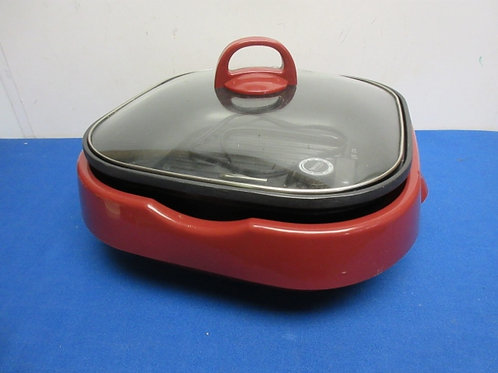 Aroma electric 3 in 1 electric grill pan