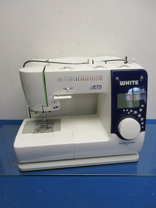 Quilter's Star 1780 express thread system sewing machine with cover