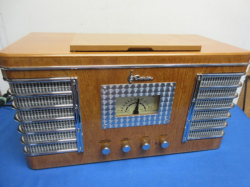 Emerson Heritage Series am/fm radio with cd player - natural wood tone - NR53