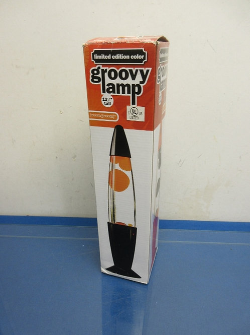 "Groovy Lamp, limited edition, 13.5"" lava lamp"