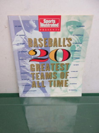 Sports Illustrated baseballs 20 greatest teams of all times from 1991,2available