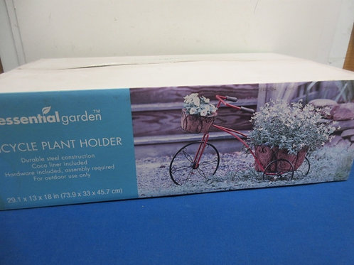 Essential garden tricycle plant holder, new in box