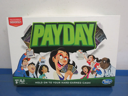 Payday-hold on to your hard earned cash-ages 8+, 2 to 4 players