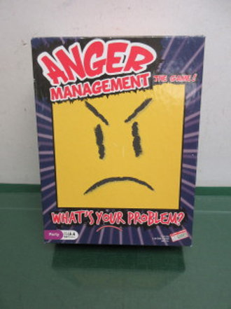 Anger Management board game, 3 or more players, ages 14+
