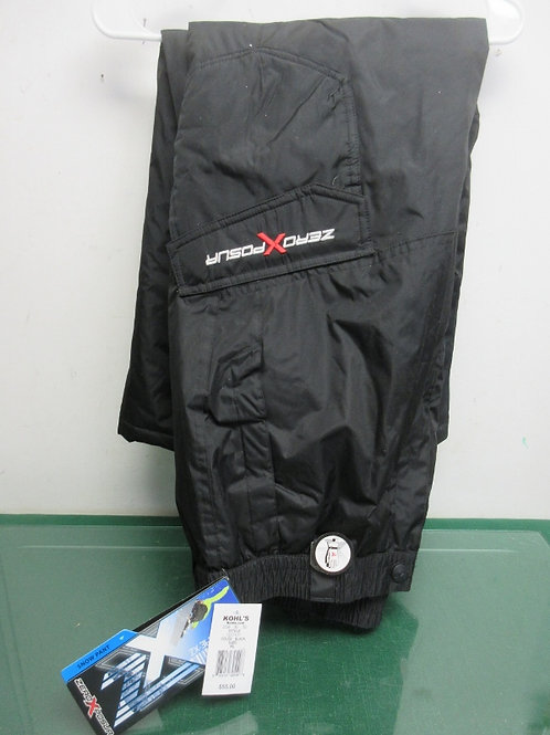 ZeroXposur, black extra large snow pants/new, tags still on