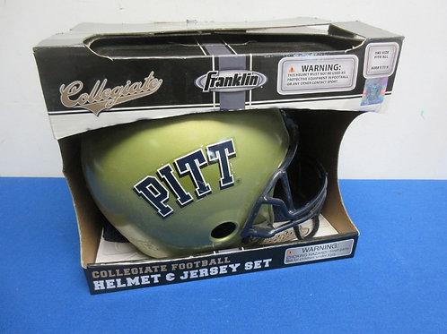Franklin Collegiate football helmet & jersey set