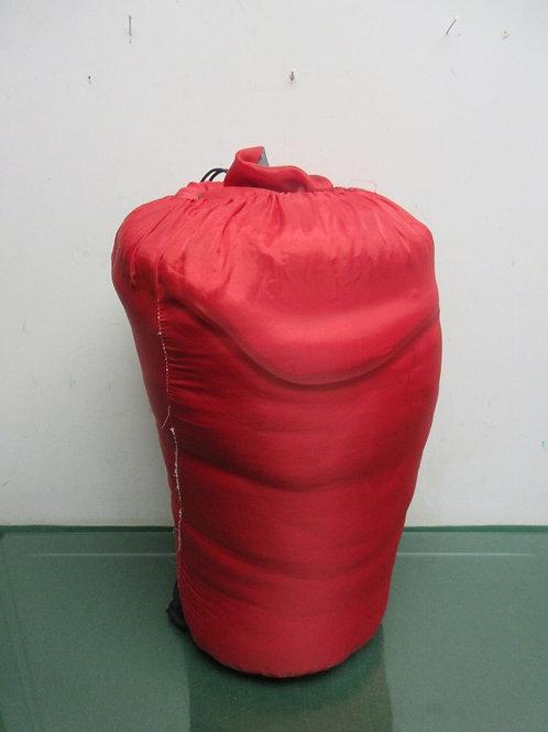 OzarkTrail red warm weather sleeping bag 33x75