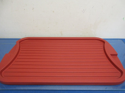 """Cook's Essentials 11x19"""" reversible grill pan-red"""