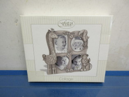Fetco Jungle Collage photo frame hold 4 small pictures