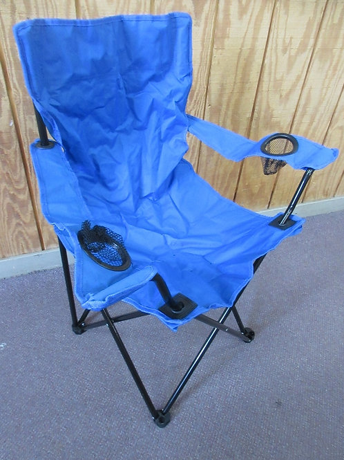 Blue folding camping chair /with carry bag