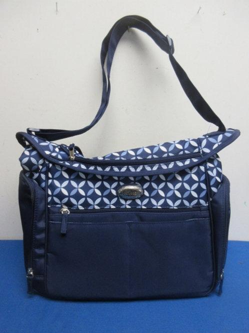 BabyBoom navy blue diaper bag