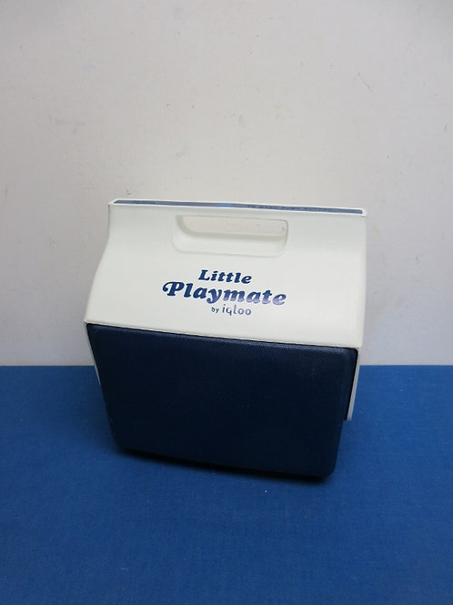 Igloo little playmate blue & white lunch cooler