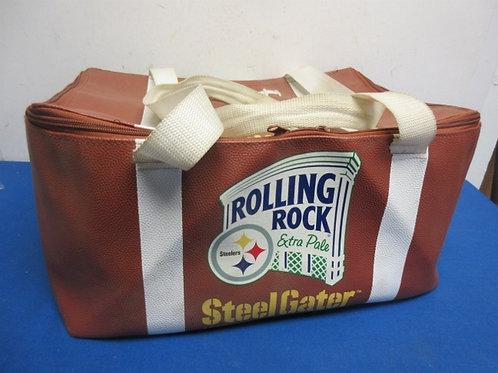 Rolling Rock beer carrier