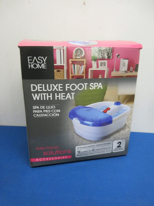 Easy Home deluxe foot spa with heat