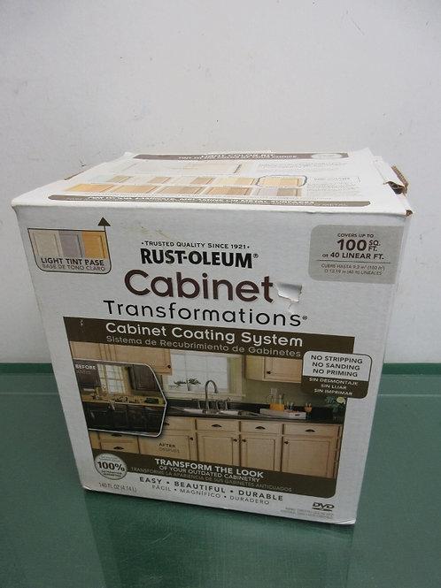 Rustoleum Transformation light tone cabinet coating kit, never used