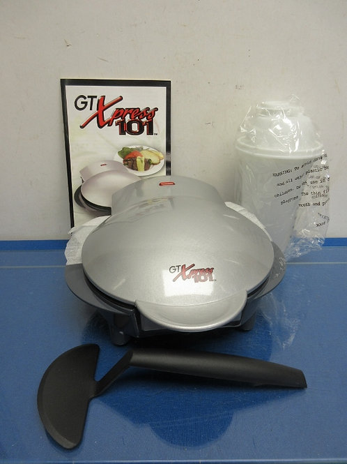GT Xpress meal, snack, and dessert maker with bonus batter mixing container, New