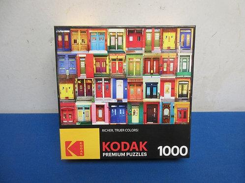 Kodak jigsaw puzzle, various doors, 1000pcs. New
