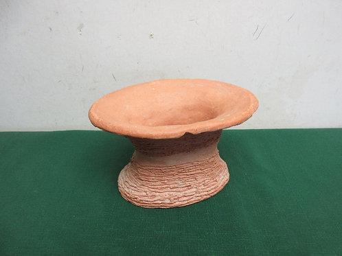 Rustic terracotta vase