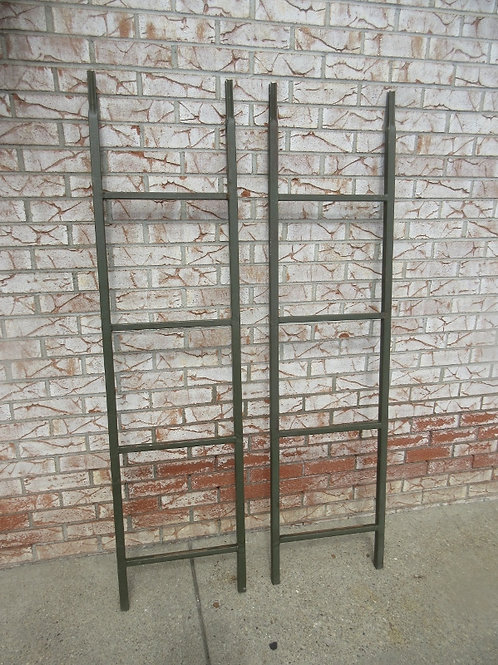 Two piece metal hunting ladder, will get you up a tree