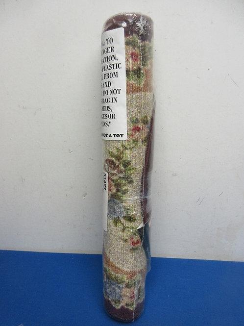 Brumlow Home rosewood oblong rug - new sealed