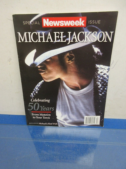Newsweek Michael Jackson special issue