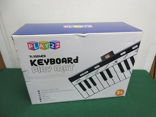 """Play 22 keyboard play mat 71"""" long"""