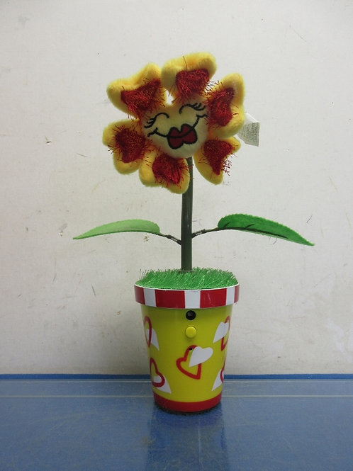 "Dancing singing sunflower 8""tall"