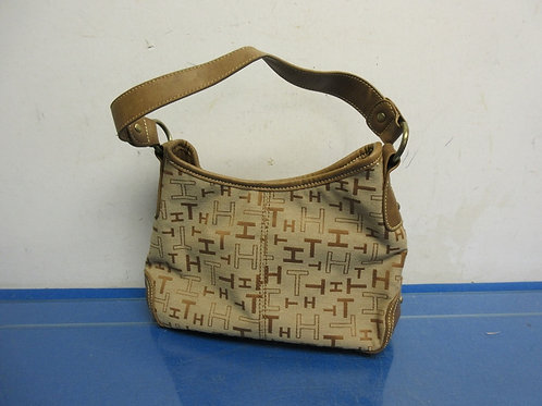 Small Tommy Hilfiger brown and tan purse
