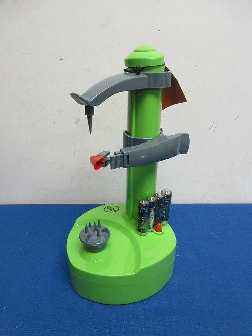 MCM Rapid electric peeler w/batteries - green - new
