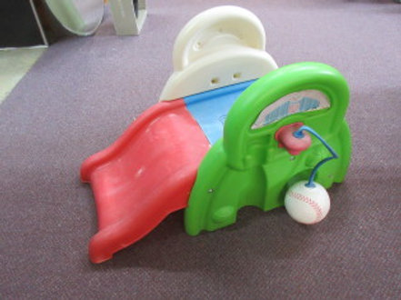 Step 2 outdoor toddler slide with baseball attached, Wear