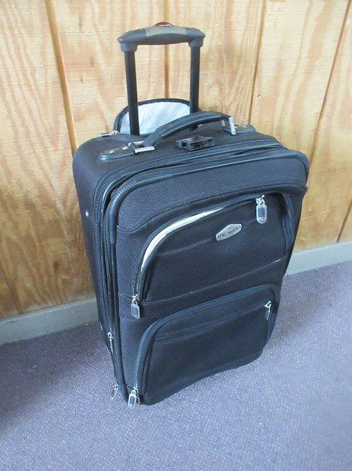 Ricardo black suit case on wheels